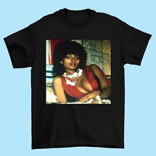 Pam Grier Actor T shirt Black Size S M L 234XL Gifl For Fan YI011