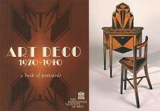 Postcard Book Art Deco 1920-1940 30 Postcards Minneapolis Institute of Arts