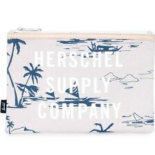 Herschel Supply Co Network Large Pouch - Sun Up white blue