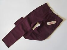 NWT Levi's Straight Chino in Merlot Welt Pocket Stretch Twill Pants 30 x 30 $58