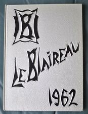 Le Blaireau Badger HS 1962 Yearbook