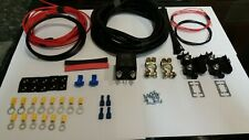 VW T4, T3 Transit Etc 100 Amp Leisure Battery Split Charge Relay Kit for Camper
