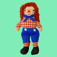 "Raggedy Andy 1970's Original Vintage Stuffed Doll (6.5"") Knickerbocker Pre-owned"