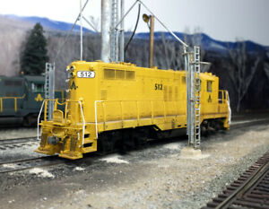 Custom Weathered Athearn Genesis EMD GP9 Allagash Railway AGR LokSound