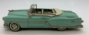 Conquest 1:43 CON8 1954 Pontiac Star Chief Convertible Shannon Green Handbuilt
