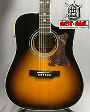 Epiphone Acoustic-Electric Guitar  Masterbild DR-500MCE ship from japan 0618