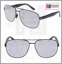 64d74b705db Authentic Gucci Aviator Pilot Sunglasses Ruthenium Gray Silver Mirror Gg2260