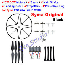 Motor Engine +Landing Gear+ Blade+Protective Ring Set for Syma X8C X8W X8 HC HW