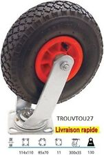 ROUE  ROULETTE   GONFLABLE  JOCKEY    POUR  CHARIOT