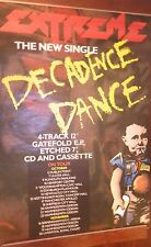 "40x60"" Huge Subway Poster~Extreme 1990 Pornograffitti Decadence Dance Tour Dates"