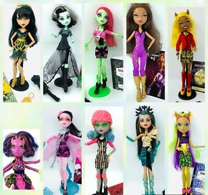 Monster High Doll Large Selection Accessories 1 Wave Rare Select Doll UPDT AUGUS