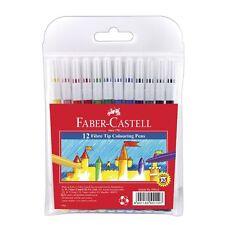 Faber-Castell Fibre Tip Texter 12 Pack School Kids Art Craft