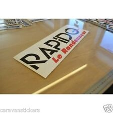 RAPIDO Le Randonneur - (STYLE 3) - Motorhome Rear Roof Sticker Graphic - SINGLE