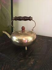 Vintage Indian Brass Tea Pot