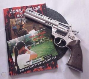 NEW Walking Dead Colt Python Diecast Gonher Toy Caps Gun Revolver