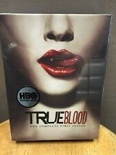 True Blood - The Complete First Season (DVD, 2009, 5-Disc Set) NEW!!