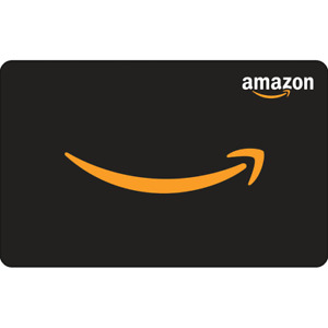 $50 Amazon Gift Card - New Unscratched - Free Shipping PHYSICAL DELIVERY ONLY!!