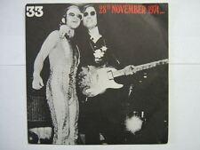 JOHN LENNON ELTON JOHN 33 TOURS FRANCE 28TH NOVEMBER 74