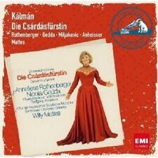 """ROTHENBERGER/GEDDA/MATTES """"DIE CSARDASFÜRSTIN"""" 2 CD NEU"""