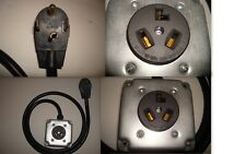 NEW MALE 14-30P 4-PRONG PLUG to OLD FEMALE 10-30R 3-PIN RECEPTACLE DRYER ADAPTER
