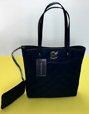 Authentic Tommy Hilfiger Purse Womens Handbag Shopper Tote 2 Pc W/Wristlet  NWT