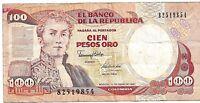 COLOMBIA 100 PESOS ORO 1990