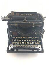 Antique Underwood No. 5 Standard Typewriter 1924 Serial Number 2313969-5
