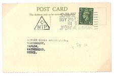 T129 1954 GB Berkshire KGVI Slogans Post Card {samwells-covers}PTS