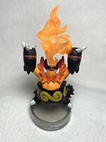 "Pokemon Black & White Emboar 3"" Plastic Figure Bottle Cap Nintendo 2011 Flames"