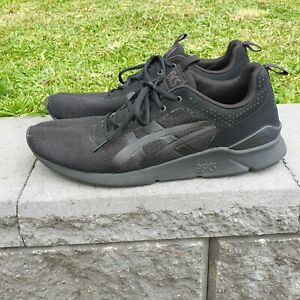 Asics Gel Lyte Runner Men Running Shoes Black Size US 10 Eur 44 H6K2N