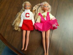 2 Vintage SKIPPER DOLLS 1987 Mattel China & 1967 (Barbie's sister)