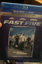 Fast Five (Blu-ray/DVD, 2011, 2-Disc Set, Rated/Unrated; Includes Digital Copy)