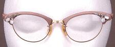 Vtg Art Craft Eyeglasses-Size 4-5 1/2-1/10 12K G.F.-Gold Filled-20mm-Wayfarer...