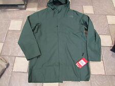 NEW THE NORTH FACE EL MISTI TRENCH COAT JACKET PARKA WATERPROOF MENS XL GREEN