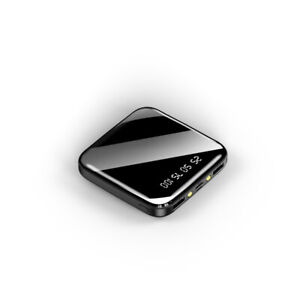 OFFICIAL 2020 Mini Power Bank 2 USB LED Light Fast Charger 500000mAh Capacity UK
