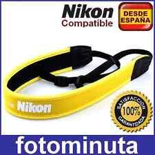 Correa de Neopreno para Camaras Nikon D3300 D7100 D5500 D5300 D3200 D5200 D7200
