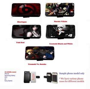 Naruto Sasuke Sharingan Cast leather phone case for Huawei Samsung S10