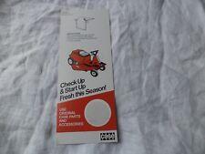 Case lawn harden tractor door knob hanger card