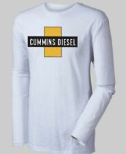 cummins long sleeve t shirt top vintage cross logo shirt dodge diesel 3xl
