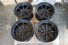 "JDM 15""X8"" pcd100x4 wheels RS Banana watanabe rims civic miata mx5 e30 eg6 mx-5"