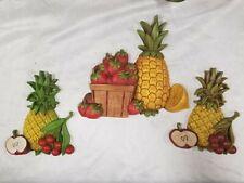 5981.Wall Decoration Poster.Interior design.Pineapple.fruit.School illustration
