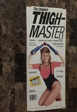 Vintage The Original Thigh Master Exerciser Suzanne Somers in Original Box 1991