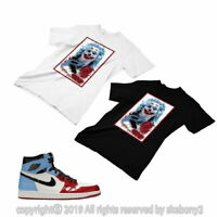 T SHIRT MATCHING STYLE OF Air Jordan 1 Retro High Fearless Chicago JD 1-51-4