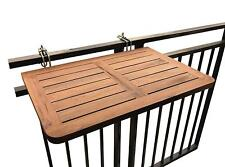 Table Click Deck Folding Wood Noble for Hang in the Balcony Adjustable