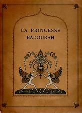 La Princesse Badourah - Illustrations Edmond Dulac - E.O. H. Piazza - 1914