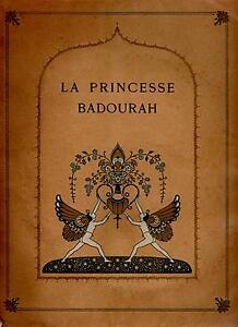 La Princesse Badourah - Illustrations Edmond Dulac - E.O. H. Piazza - 1914