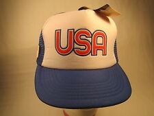 Vintage Men's Cap USA Size: Adjustable [Z164h]