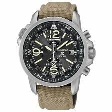 Seiko Prospex Mens Solar Chronograph Alarm Watch SSC293P1