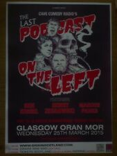 The Last Podcast On The Left - Glasgow march 2015 tour show concert gig poster