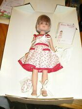 """Robert Tonner 14"""" Betsy McCall Doll in Scissor Dress in Box-repro.of 1951"""